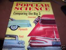 Popular Science 11/58 Comparing Chevy, Plymouth, Ford
