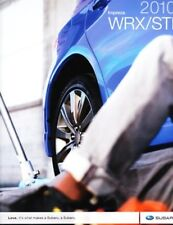 2010 10  Subaru WRX STI  original sales brochure