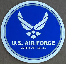 "US Air Force Decal / Sticker / ""Above All"" with Air Force Logo"