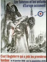 Publicité ancienne  propagande 1940 c'est l'Angleterre issue de magazine