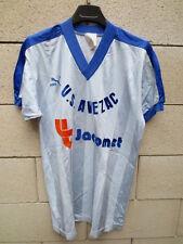 VINTAGE Maillot PUMA porté US AVEZAC trikot oldschool n°13 L