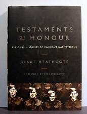 Testaments of Honour, Canada's War Veterans,  World War II 2, Military