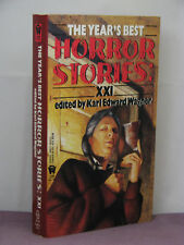 1st, signed by 8, Year's Best Horror Stories XXI 21 edby Karl Edward Wagner(1993