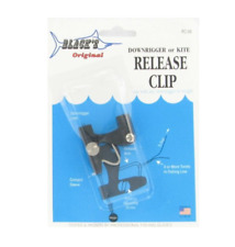 Black Marine Products Fishing Downrigger or Kite Release Clip Black's Rc-99