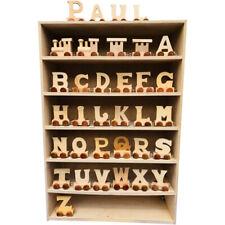 Buchstaben Zug aus Holz A-Z, Lok, Waggon, 5,5 cm -  7373