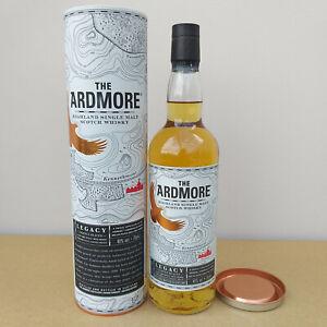 The Ardmore Legacy Highland Single Malt Scotch Whisky 40% Alkohol Scotland OVP