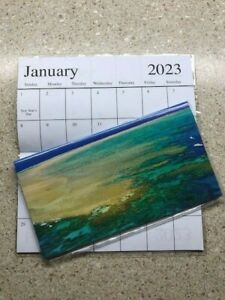 2022-2023 AMAZING OCEAN VIEW AERIAL 2 Year Planner Pocket Calendar SHIP FREE