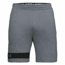 Shorts gris Under armour pour homme