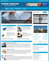 INTERNET MARKETING - Responsive Niche Website For Sale - Free Installation