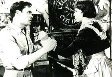 MEL FERRER  LESLIE CARON  LILI  1953 VINTAGE PHOTO #1