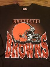 Vintage 90's Team Rated Xl Sweatshirt Cleveland Browns Football USA
