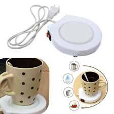 220V Electric Tea Coffee Rapid Mug Heat Warmer Heater Hot Drinks Beverage Cup