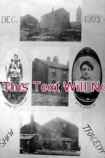 LA 714 - The Kate Garrity Tragedy, Shaw, Lancashire c1905 - 6x4 Photo