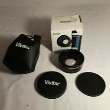 Vivitar .43x Wide Angle Lens Attachment for 58mm Filter Thread with Macro
