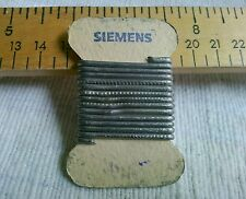 SIEMENS 1 Meter Solder Wirer 1950s For Tube Amp Radio Phono Preamp Speaker