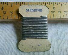 SIEMENS 1 Meter Solder Wirer 1950s For Tube Amp Radio Phono Preamp Speaker