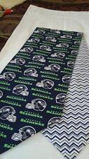 Seattle Seahawks Table Runner  Handmade -Reversible & Padded. 72x14