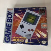 Original Nintendo Game Boy DMG-01 Near Complete in Box GameBoy