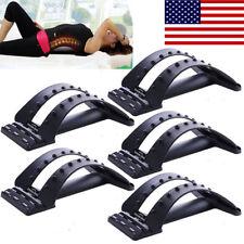 2018 Back Magic Stretcher Lower Lumbar Massage Support Spine Posture Corrector