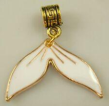 18K gilded European mermaid Charm Bead Fit sterling 925 Necklace Bracelet aw16