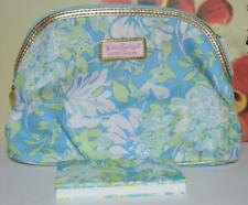 ESTEE LAUDER Lilly Pulitzer Peach Passion Blush & EyeShadow QUAD IN Cosmetic Bag