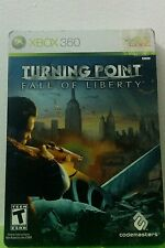 TURNING POINT FALL OF LIBERTY SPECIAL EDITION STEEL BOX  XBOX 360 NO BOOKLET
