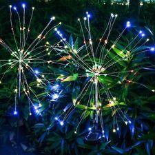 Firework Starburst 150 LED Solar Light for Front yard Patio Lawn Christmas Lands