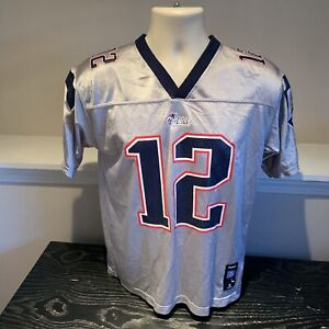 Tom Brady New England Patriots Reebok NFL Football Jersey Youth Boys Large