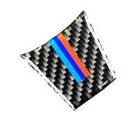 1PCS Carbon Fiber Steering Wheel M Decoration Cover Sticker For 09-15 BMW E89 Z4