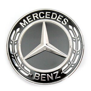 Mercedes-Benz Stern Emblem schwarz Motorhaube W463 W461 C253 W166 A0008171601