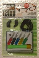 Eyeglass Repair Screwdriver Jeweler Glasses Kit In Storage Case
