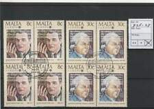 Europa Cept gestempeld block 1985 used - Malta 726-727 (265)