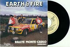 "EARTH & FIRE ""Rallye Monte-Carlo (Weekend) / KAYAK"" 1981 MINT PS & VINYL 45"