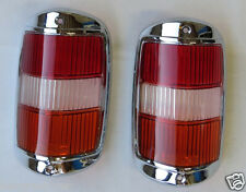Amber early  tail light lens with chrome fits mercedes 190sl 190 sl w121