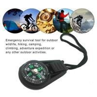 1x Cute Portable Compass Survival Hiking Camping Direction Compasses W6X3
