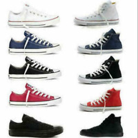 New Mens Shoes Classic Athletic Sneakers Low High Top Casual Canvas Shoes lot
