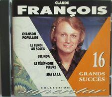 "CLAUDE FRANÇOIS - RARE CD ""COLLECTION SUPERSTAR - FRANCE LOISIRS"""