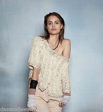 Grobe 3/4 Arme Damen-Pullover & Strickware ohne Muster und Knöpfe