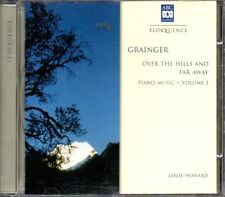 Grainger Over The Hills And Far Away Piano Music (Leslie Howard) - MUSIC CD