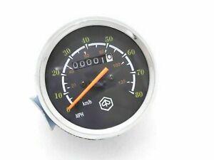 SPEEDOMETER 80 MPH / 120 KMPH VESPA P200E NEW BRAND
