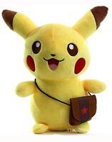 Peluche pikachu 20 cm con borsa pokemon go pupazzo originale plush soft toys