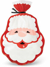 Santa Christmas Shaped Treat Bags 15 ct from Wilton 9482 - NEW