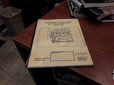 Yale Engine Maintenance Manual for Yale Gasoline/L.P.G. Model D5, ITD 1573, 1993