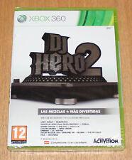 DJ HERO 2 - XBOX 360 XBOX360 - PAL ESPAÑA - NUEVO PRECINTADO - DJHERO