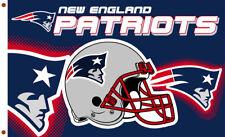 New England Patriots Football team flag 90x150cm 3x5ft best banner 100D Polyeste