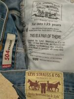Levi Strauss 504 jeans AZULES W33 L32 descatalogado preciosos vintage 🤠 U_08