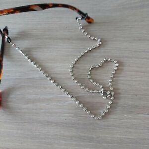 Diamante bead chain for Glasses