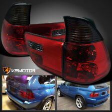 2000-2005 BMW X5 E53 Red/Smoke Lens Tail Lights Lamps Left+Right