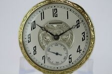 1921 VINTAGE 12 size 19 JEWELS HAMILTON 900 POCKET WATCH RUNNING
