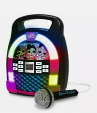 More details for lol surprise! portable bluetooth karaoke boombox for kids with lights & music